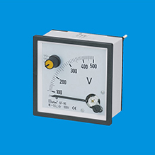 -3#Voltmeter With Selector Switch